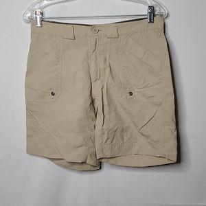 Alpine Design tan hiking shorts size 6